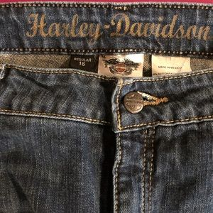 💥 EUC HARLEY-DAVIDSON Jeans Boot Cut 16 Reg 💥